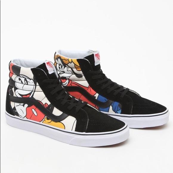 Vans Shoes | Disney Vans Men | Poshmark